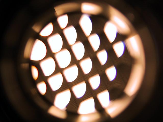 trou d'oeil de lumière