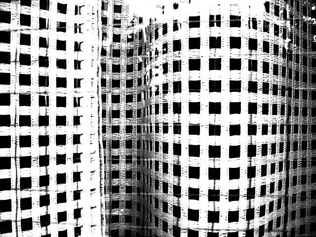 aoyama geometric curtain