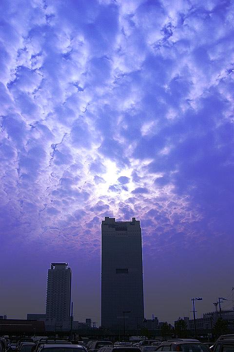 cloudy sky walk