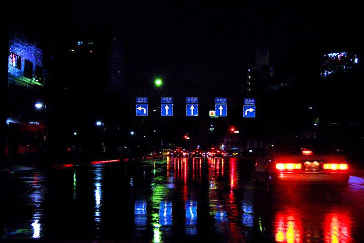 national highway night